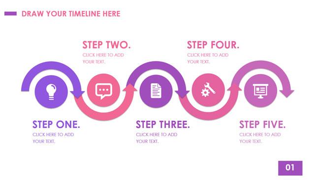 简约清新Timeline时间轴模板.jpg